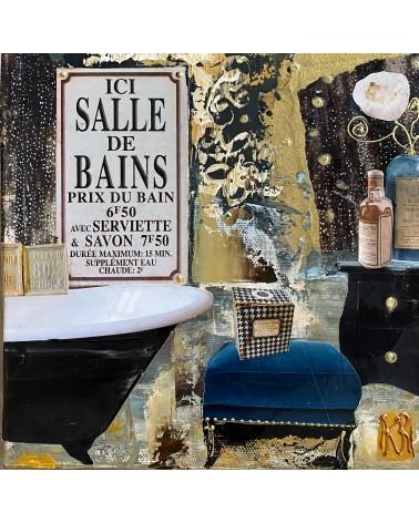 Toile-de-Karine-Romanelli-La-salle-de-bain