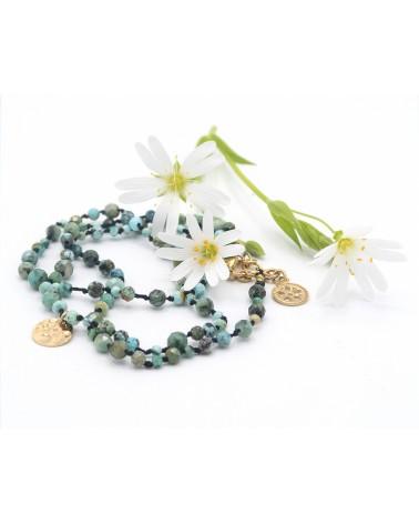 Mexique_Bracelet turquoises amazonites_IPoisot